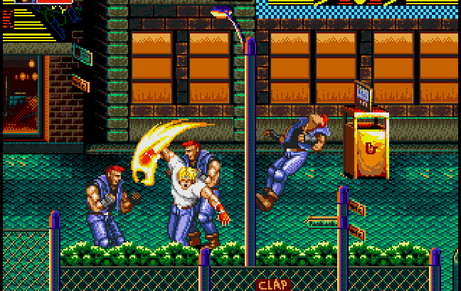 Назад в 90-е или серия игр Streets of Rage
