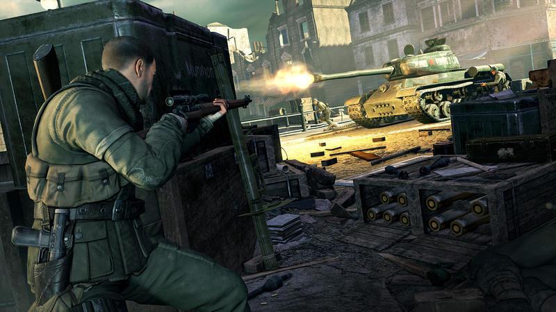 Возвращение в Берлин со Sniper Elite V2 Remastered
