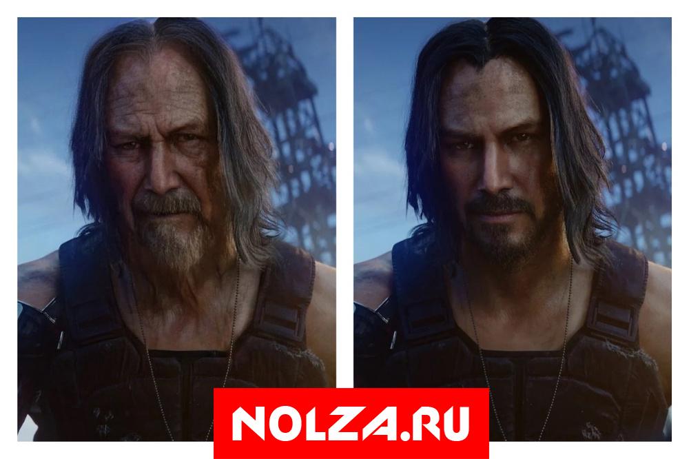 Джонни Сильверхенд (персонаж Киану Ривза) из Cyberpunk 2077