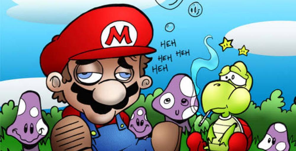 Почему Марио ест грибы?
