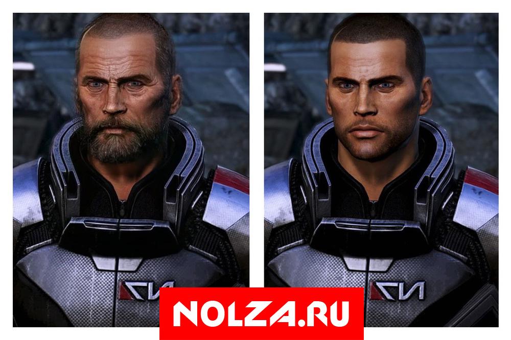 Коммандер Шепард из оригинальной трилогии Mass Effect