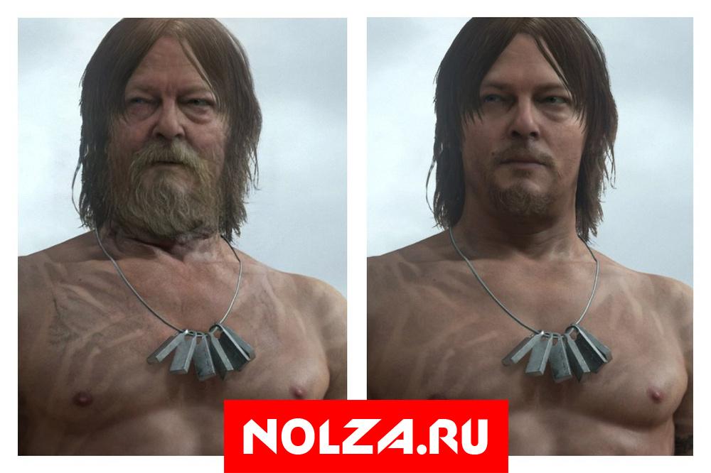 Персонаж Нормана Ридуса из Death Stranding