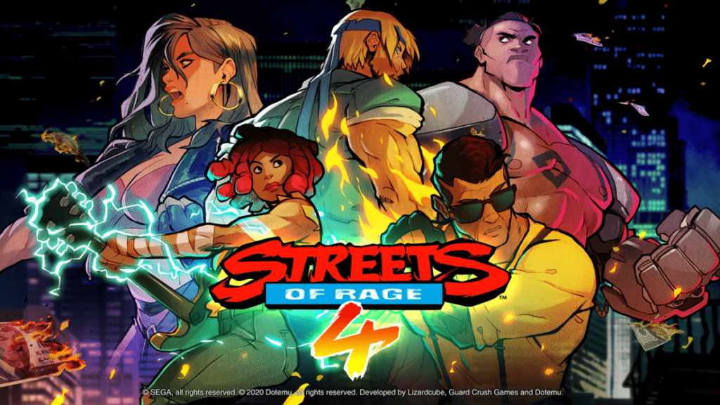 Street's of Rage 4 официальная обложка - NOLZA.RU