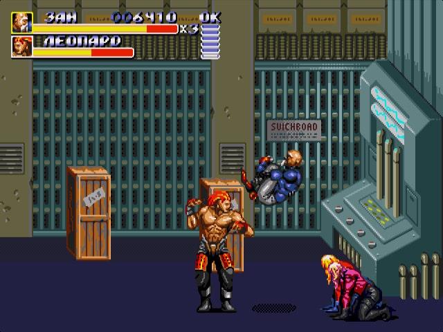 Street's of Rage 3 gameplay NOLZA.RU