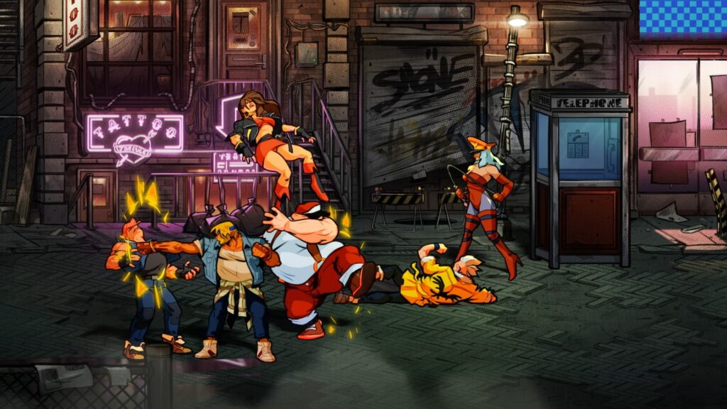 Street's of Rage 4 игровой процесс - NOLZA.RU