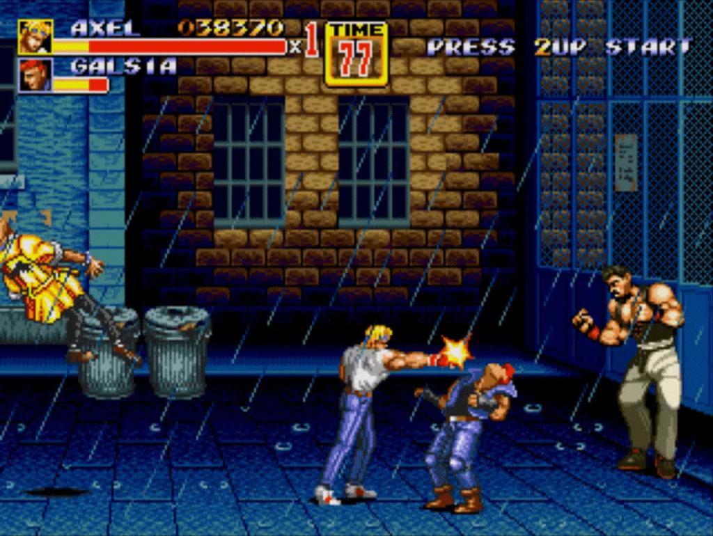 Street's of Rage 2 gameplay - NOLZA.RU