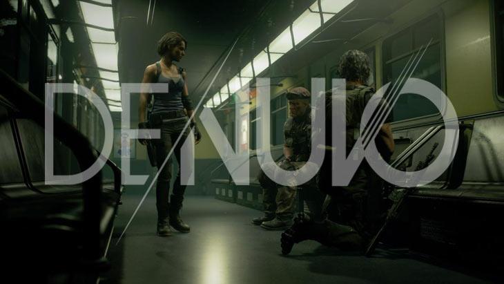 CAPCOM снял защиту DENUVO с игры Resident Evil 3 Remake NOLZA.RU