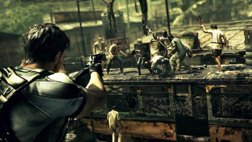 Resident Evil 5 обзор игры NOLZA.RU