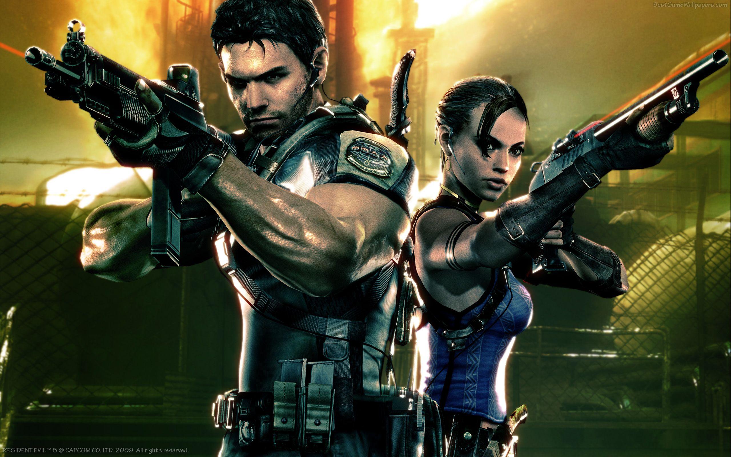 Resident Evil 5 прошла проверку временем