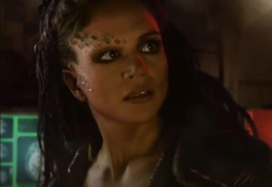 Кристин Стил играет роль Умагон в игре Tiberian Sun