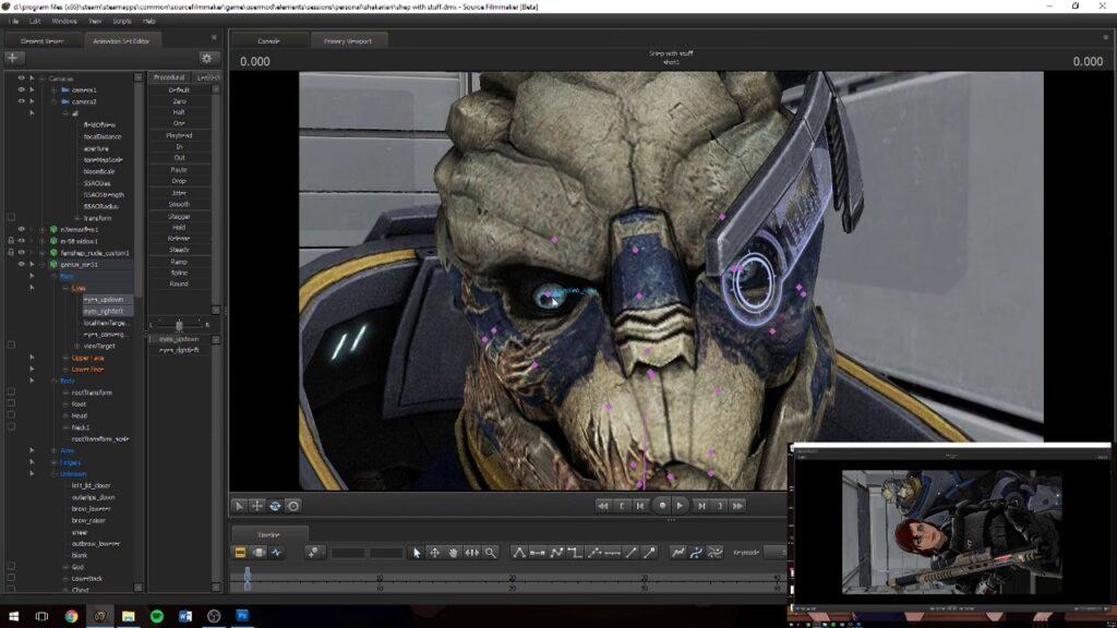 Создание анимации в Unreal Engine 5
