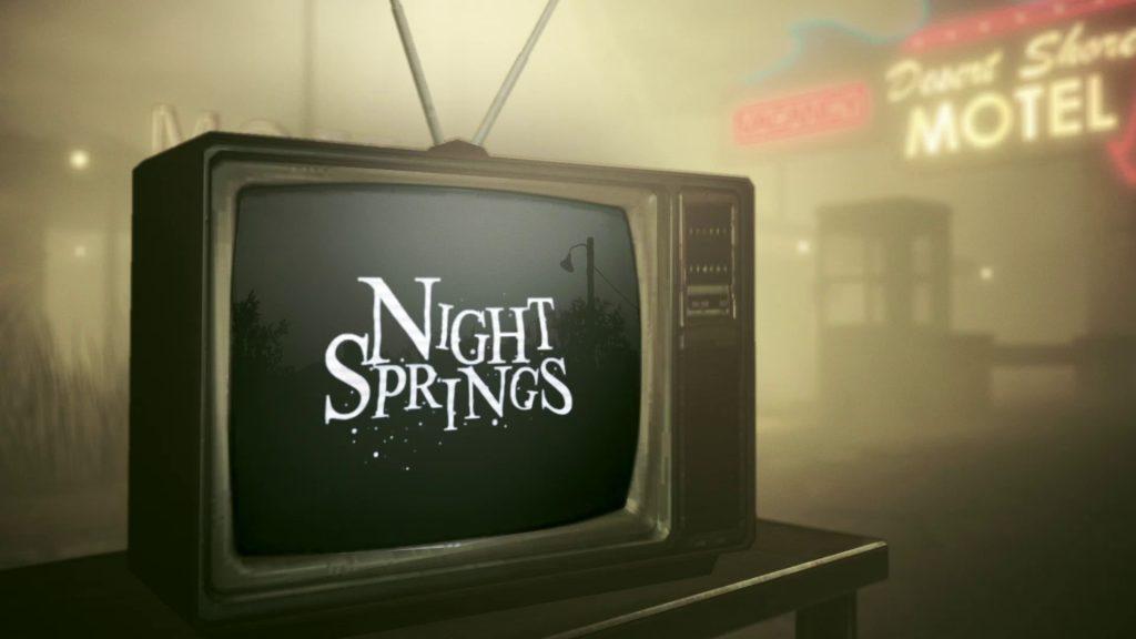 Night Springs сериал в Alan Wake NOLZA.RU