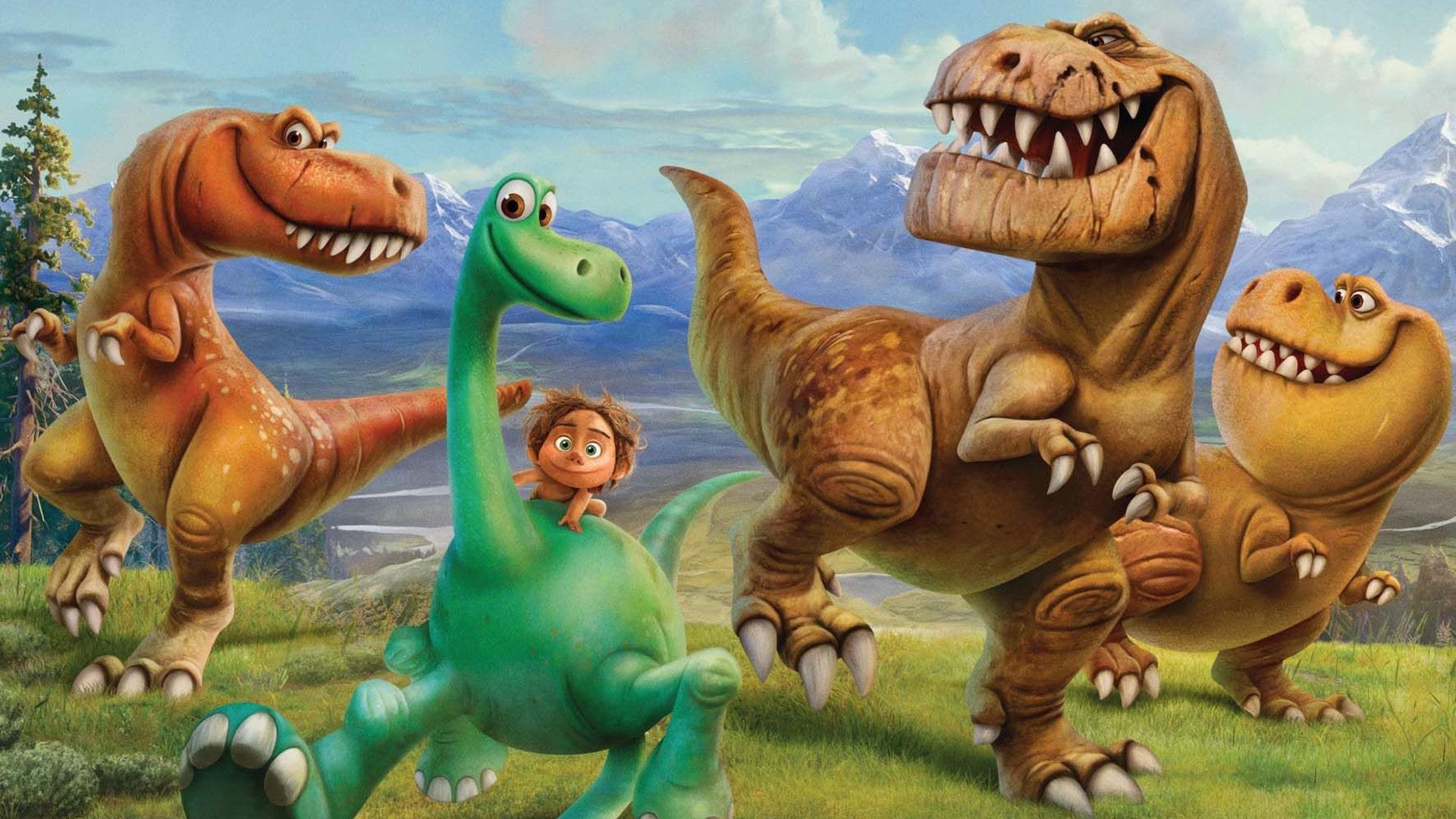 Динозавры учат шахматaм
