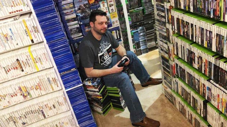 Невероятно большая коллекция видеоигр Антонио Ромеро Монтейро NOLZA.RU