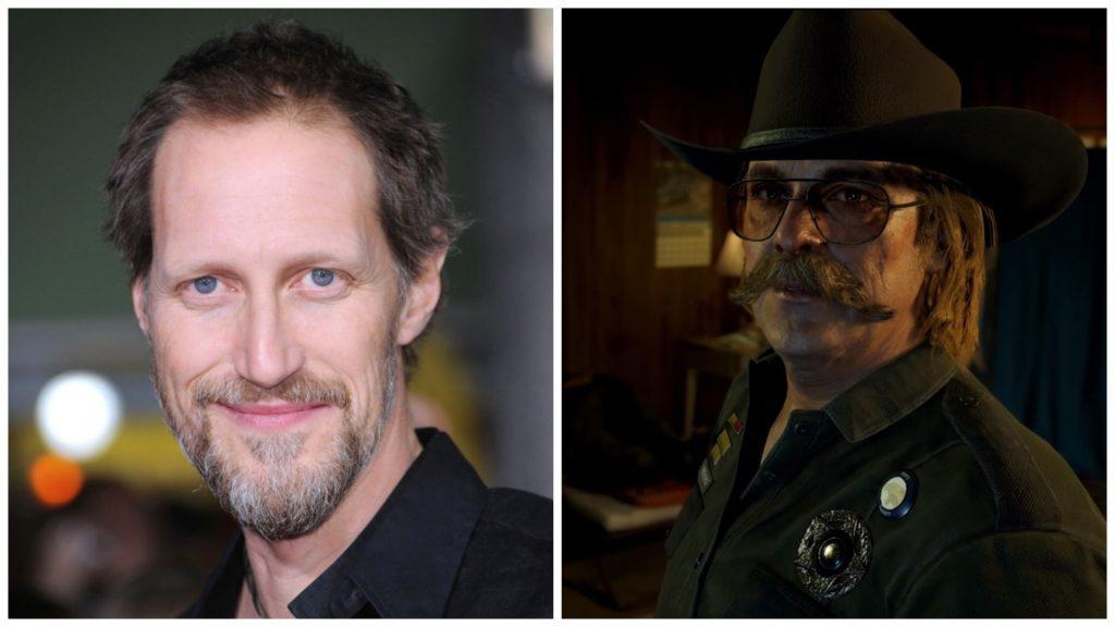 Кристофер Хейердал озвучил шерифа Эрла Уайтхорса в игре Far Cry 5