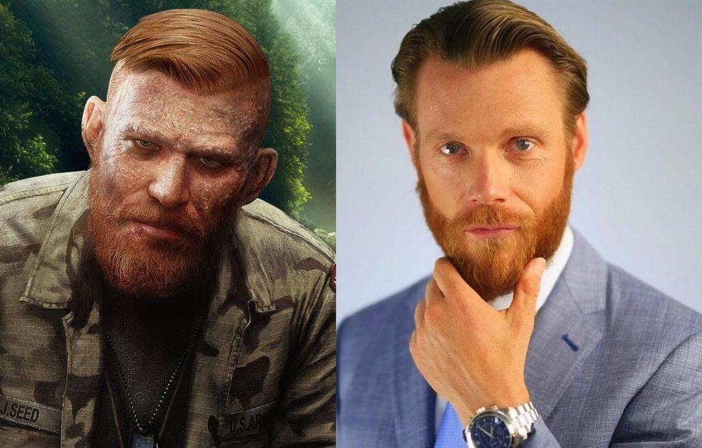 Адам Дорси сыграл Иакова Сида в игре Far Cry 5