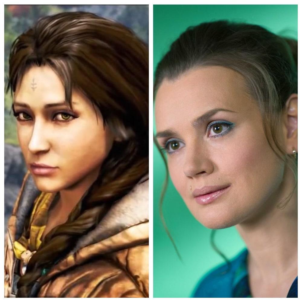 Амиту на русский язык озвучивала Наталья Фищук в игре Far Cry 4