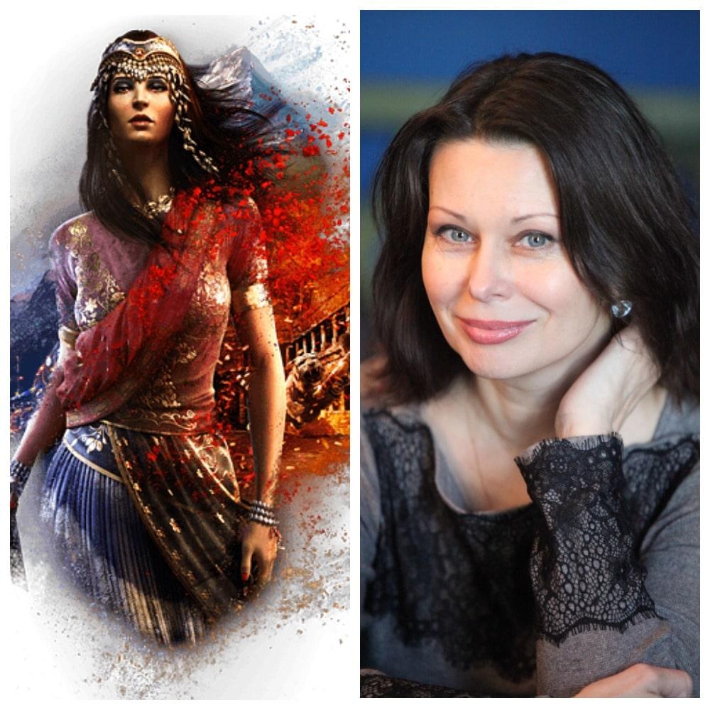 Нур Наджар на русский язык озвучивала Елена Харитонова в игре Far Cry 4